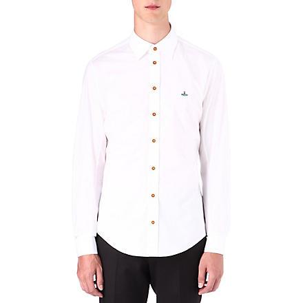 VIVIENNE WESTWOOD Poplin shirt (White