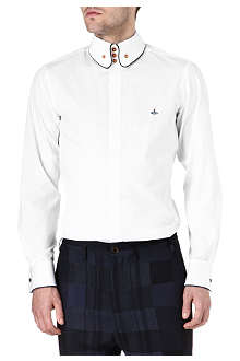 VIVIENNE WESTWOOD Three-button piped-edge shirt