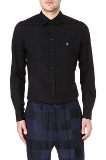 VIVIENNE WESTWOOD Orb slim-fit stretch-cotton shirt