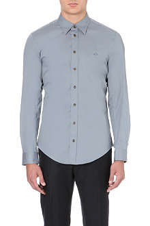 VIVIENNE WESTWOOD Orb stretch-cotton shirt