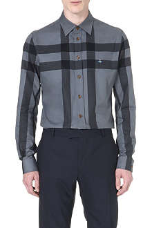 VIVIENNE WESTWOOD Windowpane check shirt