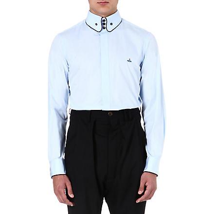 VIVIENNE WESTWOOD Slim-fit three-button shirt (Navy