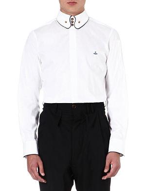 VIVIENNE WESTWOOD Slim-fit three-button shirt