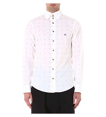 VIVIENNE WESTWOOD Diamond coupe shirt (White