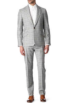 VIVIENNE WESTWOOD Slim-fit Prince of Wales-check suit