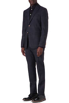 VIVIENNE WESTWOOD Henry regular-fit check suit