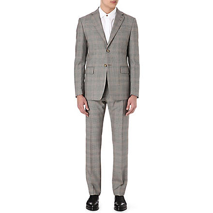 VIVIENNE WESTWOOD Henry Prince of Wales check suit (Grey
