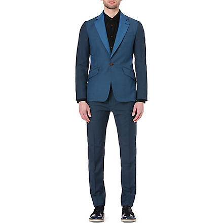 VIVIENNE WESTWOOD James tone-on-tone suit (Teal