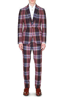 VIVIENNE WESTWOOD Checked wool suit