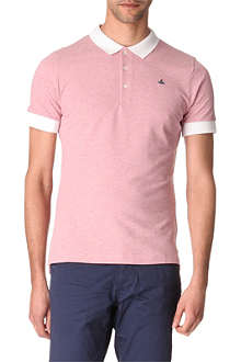 VIVIENNE WESTWOOD Contrast-colour polo shirt