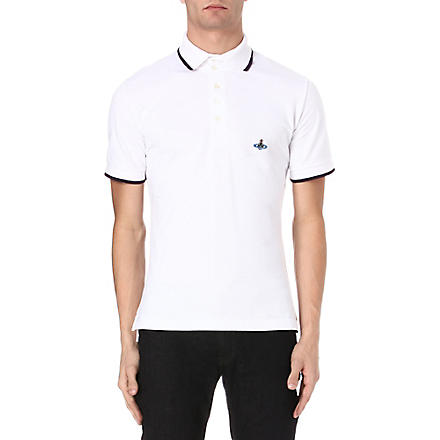 VIVIENNE WESTWOOD Basic Orb polo shirt (White