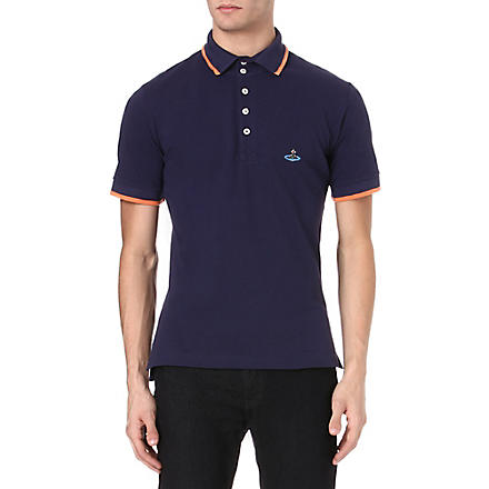 VIVIENNE WESTWOOD Basic Orb polo shirt (Navy