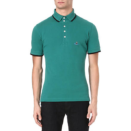 VIVIENNE WESTWOOD Basic Orb polo shirt (Green