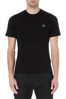 VIVIENNE WESTWOOD Orb-embroidered t-shirt