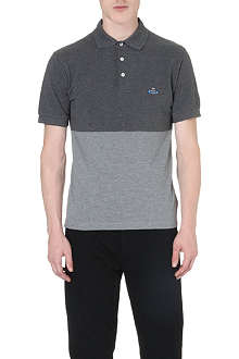 VIVIENNE WESTWOOD Colourblocked polo shirt