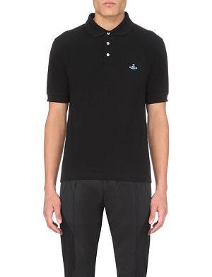 VIVIENNE WESTWOOD Classic cotton-piqué polo shirt