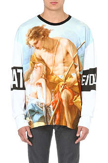 VIVIENNE WESTWOOD Renaissance Painting cotton top
