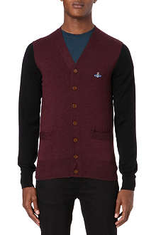 VIVIENNE WESTWOOD Bi-coloured cardigan