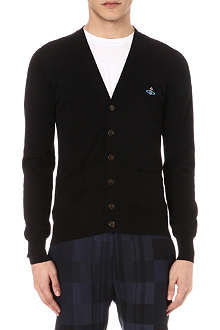 VIVIENNE WESTWOOD Orb-embroidered cardigan