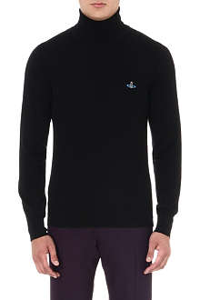 VIVIENNE WESTWOOD Orb roll-neck wool jumper
