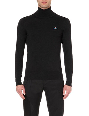 VIVIENNE WESTWOOD Classic roll-neck orb jumper