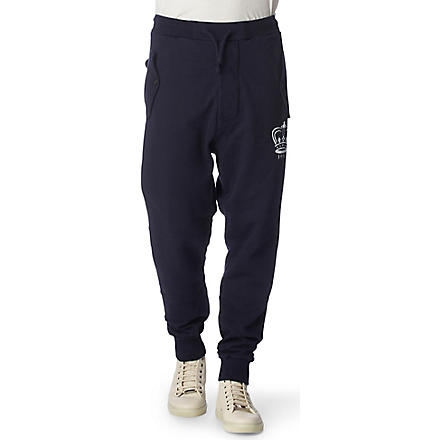 VIVIENNE WESTWOOD Crown logo jogging bottoms (Navy