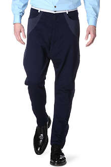 VIVIENNE WESTWOOD Patch-panel trousers