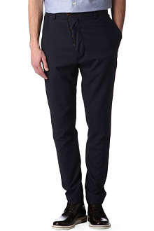 VIVIENNE WESTWOOD Asymmetric button-fly trousers