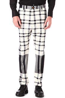 VIVIENNE WESTWOOD James Bond check trousers