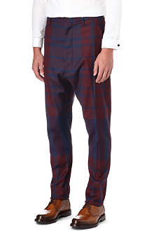 VIVIENNE WESTWOOD Slim drop-crotch trousers