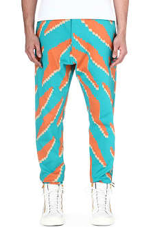 VIVIENNE WESTWOOD Geometric jogging bottoms