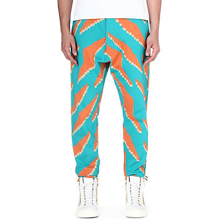 VIVIENNE WESTWOOD Geometric jogging bottoms (Blue