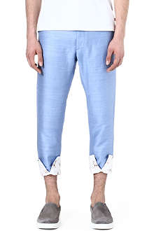 VIVIENNE WESTWOOD Turn-up slim trousers