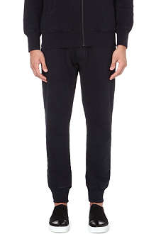 VIVIENNE WESTWOOD Orb-embroidered cotton jogging bottoms
