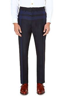 VIVIENNE WESTWOOD James Bond checked trousers