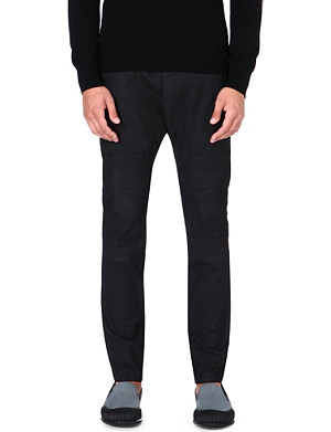 VIVIENNE WESTWOOD Cotton-blend tapered trousers