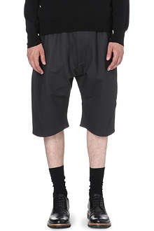 VIVIENNE WESTWOOD Coated drop-crotch shorts
