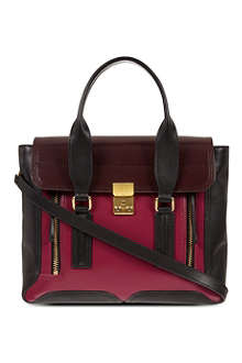 3.1 PHILLIP LIM Leather satchel