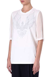 3.1 PHILLIP LIM Silk-back t-shirt
