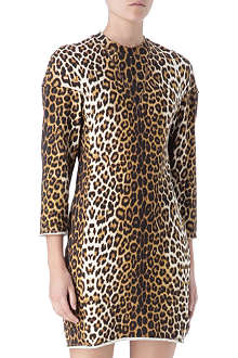 3.1 PHILLIP LIM Sculpted leopard dress