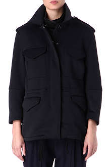 3.1 PHILLIP LIM Neoprene layered parka jacket