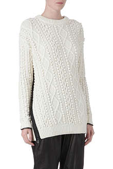 3.1 PHILLIP LIM Long zip-detailed jumper