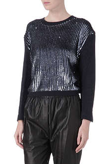 3.1 PHILLIP LIM Sequin-panel jumper
