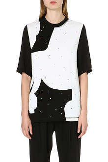 3.1 PHILLIP LIM Beaded silk top