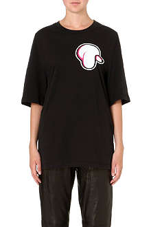 3.1 PHILLIP LIM Poodle patch t-shirt