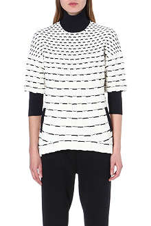 3.1 PHILLIP LIM Contrast knitted jumper