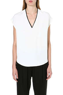 3.1 PHILLIP LIM V-neck silk top