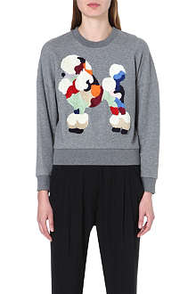 3.1 PHILLIP LIM Poodle dropped-shoulder sweatshirt
