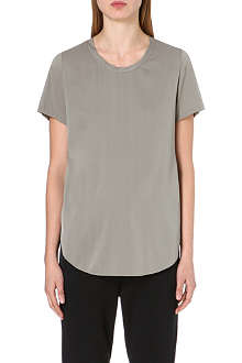 3.1 PHILLIP LIM Silk-blend t-shirt