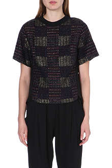 3.1 PHILLIP LIM Checked textured top